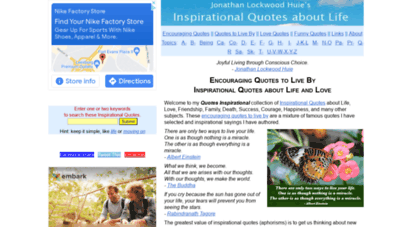 quotes-inspirational.com - encouraging and inspirational quotes about life
