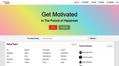 quotesgram.com - quotesgram. get motivated in the pursuit of happiness