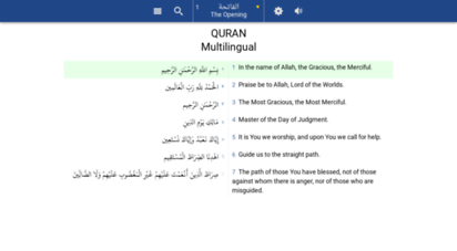 quranwow.com - quran with translations - text audio search