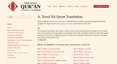 quranyusufali.com