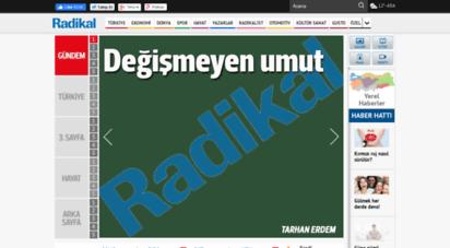 radikal.com.tr - haberler güncel ekonomi ve politika haberleri türkiye´nin en cesur gazetesi radikal´de!