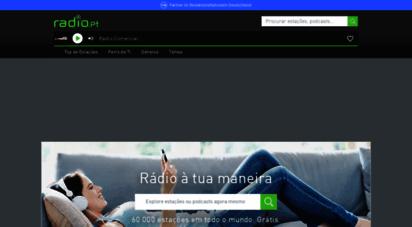 radio.pt - rádio online, web rádio, internet rádio e música