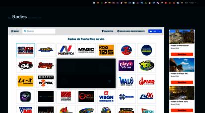 radiosdepuertorico.com - emisoras de puerto rico - emisoras de radio en puerto rico
