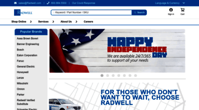 radwell.co.uk - radwell: mro, inventar und industrieller reparaturservice - radwell.de