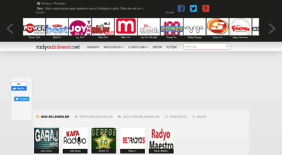 radyodinlesem.net - canlı ve online radyo dinle - radyodinlesem.net