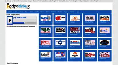 radyodinletv.com - canlı radyo dinle tv