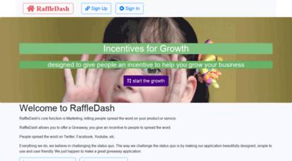 raffledash.com - giveaway and sweepstakes for business growth  raffledash.com