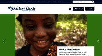 rainbowschools.ca - rainbow schools
