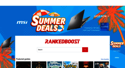 rankedboost.com - rankedboost: video games strategy guides by gaming experts