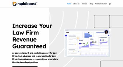 rapidboostmarketing.com - advertising, marketing, branding, creative, video, seo & social media