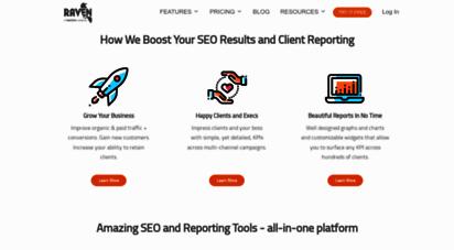 raventools.com - raven tools - white label seo reports and seo tools