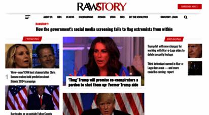 rawstory.com - raw story - celebrating 16 years of independent journalism