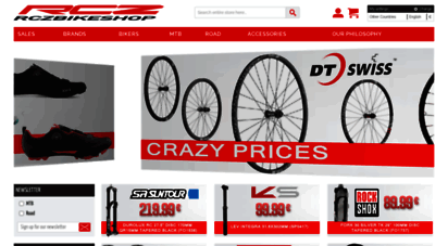 Welcome to Rczbikeshop com - MTB & road bike spare parts