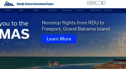 rdu.com - home  raleigh-durham international airport