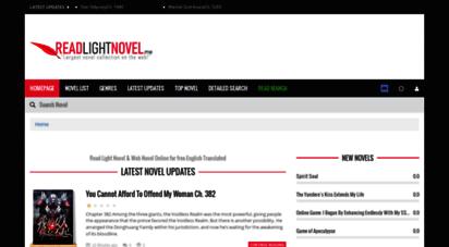 readlightnovel.org - read free english translated light novel online!