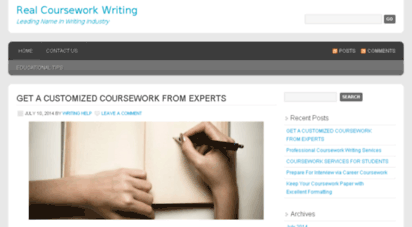 Straightforward Coursework Writing Secrets – Insights