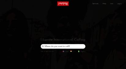 rebtel.com - cheap international calls and unlimited calling  rebtel.com