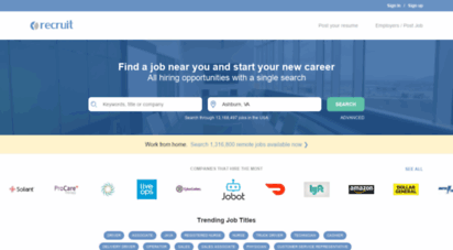 recruit.net - recruit.net - we help people find jobs