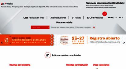 redalyc.org - sistema de informacin científica redalyc, red de revistas científicas