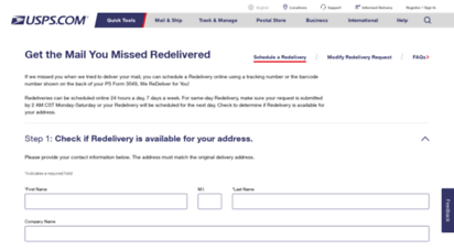 Welcome to Redelivery usps com - Stamps, Mailing Supplies