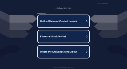 reelyorum.net - eğitim ve bilgi portalı - reel yorum