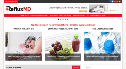 refluxmd.com - acid reflux, gerd and heartburn resources: refluxmd - your complete personalized reflux resource