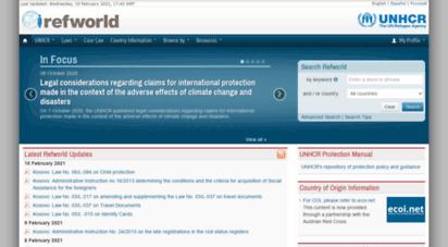 refworld.org - refworld  the leader in refugee decision support