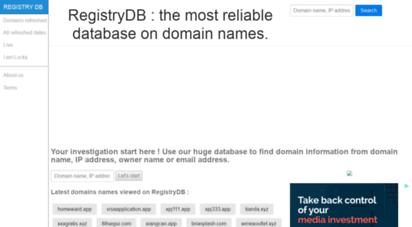 registrydb.com
