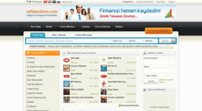 rehberalem.com - rehberalem.com - firma rehberi - firmanızı ücretsiz ekleyin...