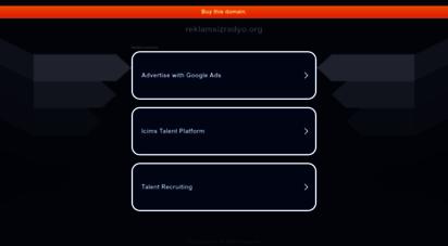 reklamsizradyo.org - reklamsız radyo  kesintisiz hit müzik