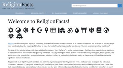 religionfacts.com - just the facts on religions - religionfacts