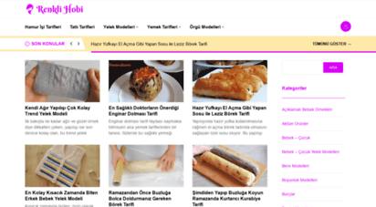 renklihobi.com - renkli hobi - falanca portal, örgü, yemek, hobi sitesi
