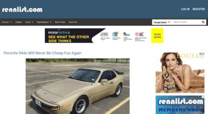 rennlist.com - rennlist - the porsche enthusiast site