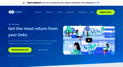 replug.io - replug - get extra traffic and leads from your shared links