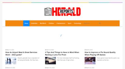 reportsherald.com - reports herald magazine 2020
