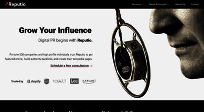 reputio.com - reputio - digital pr begins here