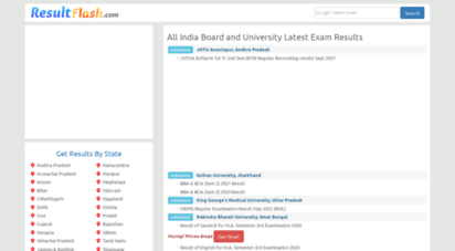 resultflash.com - all india exam results,10th,12th, ssc, higher scondary board ,university results