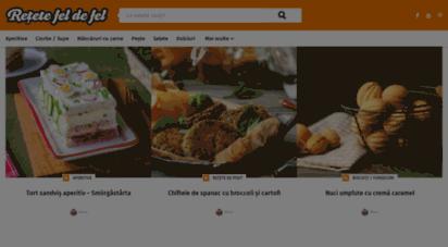 retetefeldefel.ro - rețete fel de fel  retete culinare simple, rapide si la indemana oricui.
