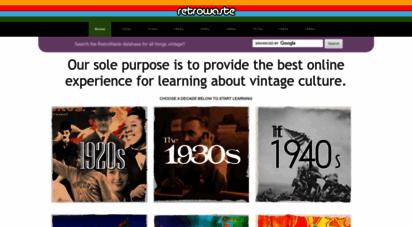 retrowaste.com - retrowaste: vintage fashion, toys, cars, memorabilia and more!