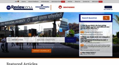 reviewadda.com - top mba, engineering, bba, arts & commerce colleges reviews & article  reviewadda.com