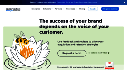 reviewtrackers.com - reviewtrackers  measure the customer experience