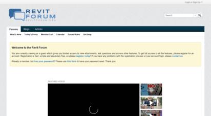 revitforum.org - revit forum - revit, bim, architecture & engineering.