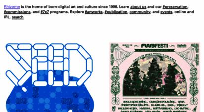 similar web sites like rhizome.org