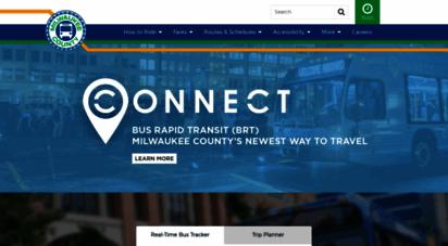 ridemcts.com - milwaukee county transit system