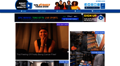 rightthisminute.com - rightthisminute  the viral videos show