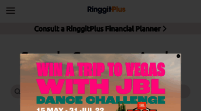 ringgitplus.com - compare malaysia´s top finance products and apply online