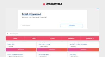 ringtone123.net - best ringtones download mp3 for mobile  ringtone123.net