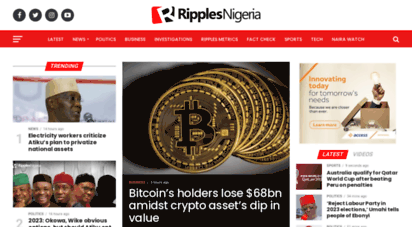 ripplesnigeria.com - latest nigeria news  top stories from ripples nigeria