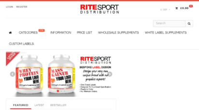 Welcome to Ritesport co uk - Buy the most comfortable brand sneakers