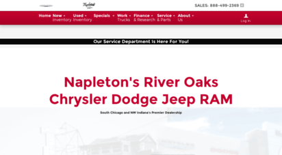 welcome to riveroakscjd com napleton s river oaks chrysler dodge jeep ram dealership near chicago website data analysis by danetsoft com